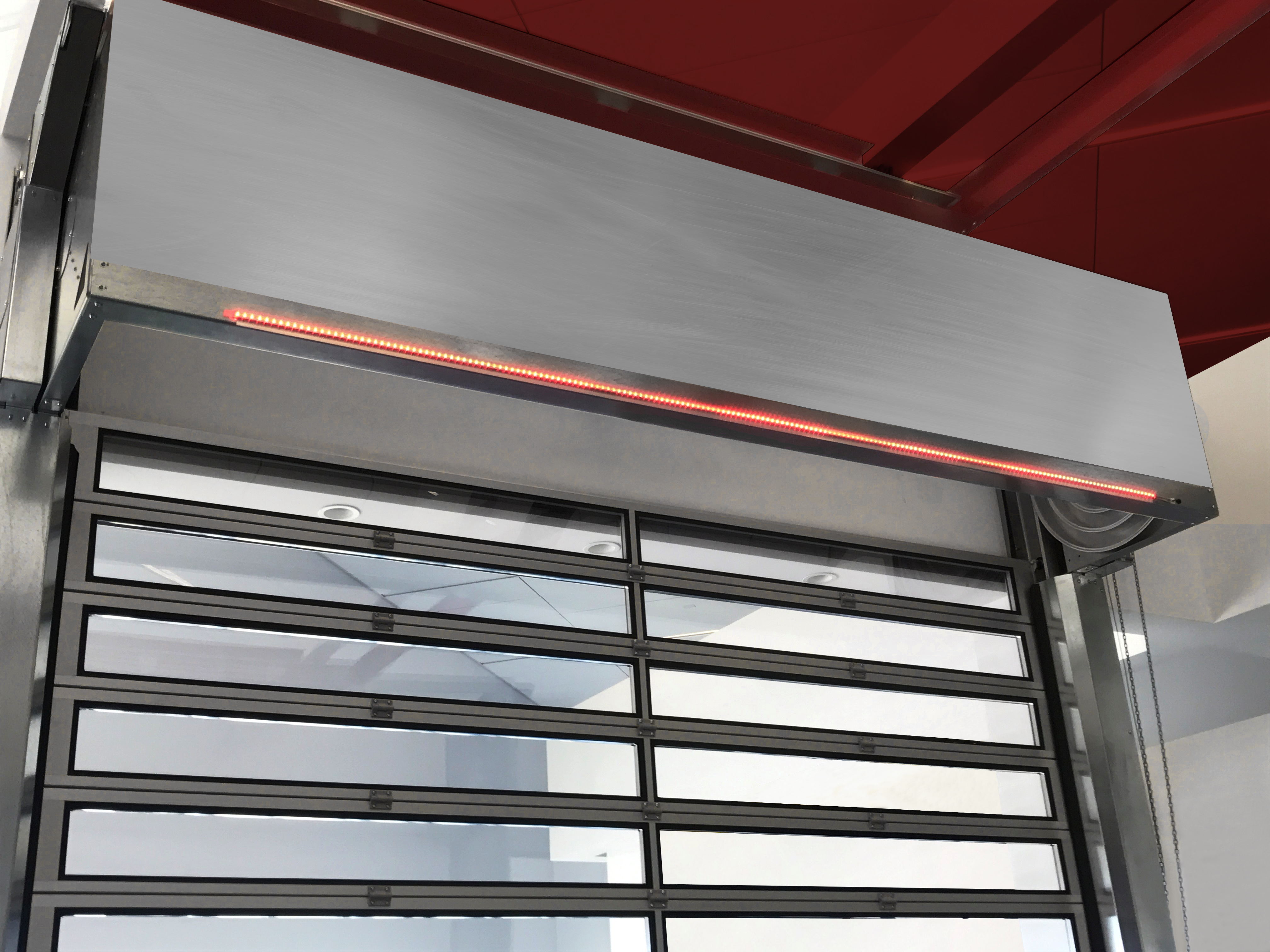The LED Lite Advance Door Monitoring System Was Recently Introduced By  Hörmann High Performance Doors As An Available Option For All Of Their High  ...