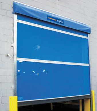 Automatic roll up barriers for Rollaway screen door parts