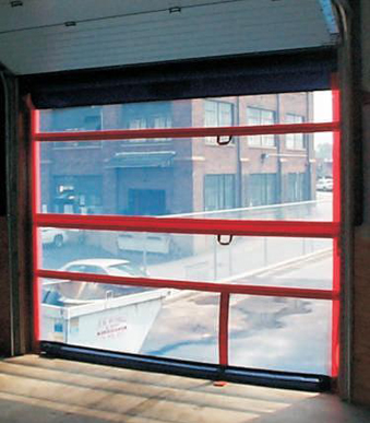 Roll Up Screen Doors Model SC-200 Manual Roll-Up Barrier & Manual Roll-Up or Sliding Barriers